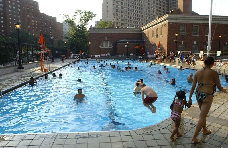 Asser levy playground outdoor pools nyc parks - Free public swimming pools near me ...