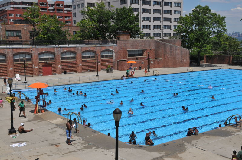 Lyons Pool Nyc Parks