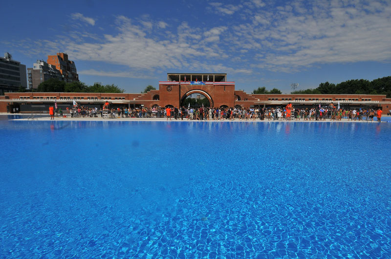 Mccarren Park Outdoor Pools Nyc Parks