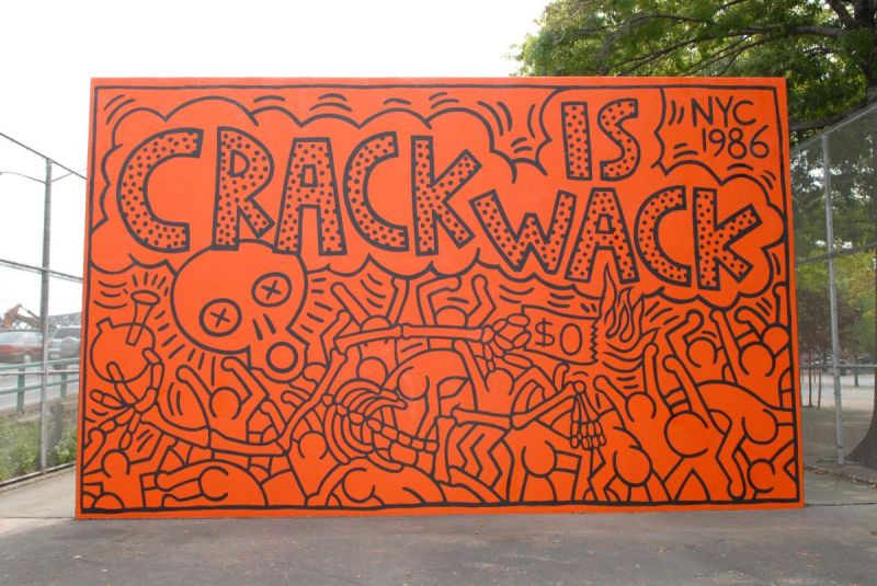 Crack is wack playground monuments crack is wack nyc parks for Crack is wack mural