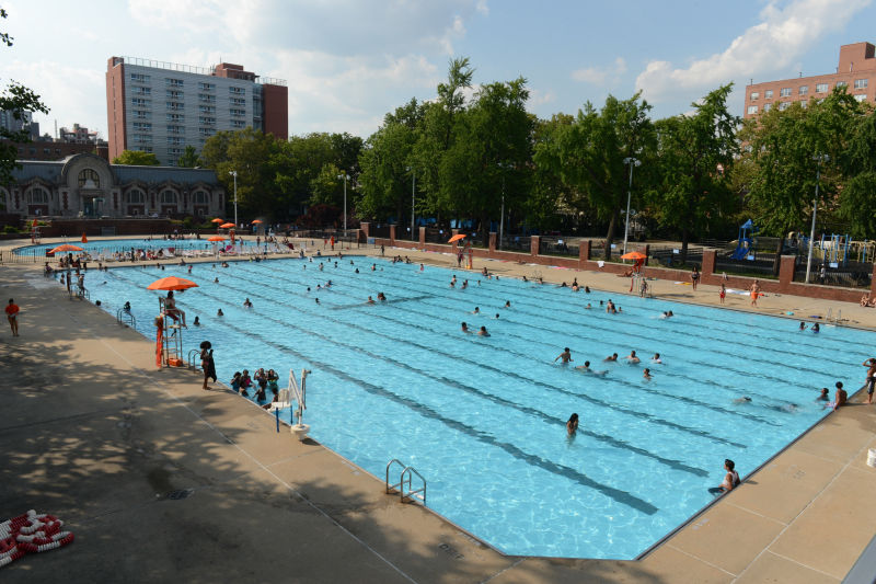 Hamilton fish park outdoor pools nyc parks - Hamilton swimming pool san francisco ...