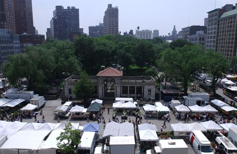 Union Square Park Highlights Nyc Parks