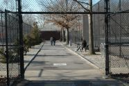 Entering Kissena Corridor East Courts and Playgrounds