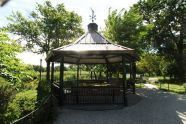 Gazebo in Mother Carter Garden