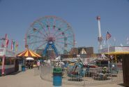 Looking Toward the Wonder Wheel
