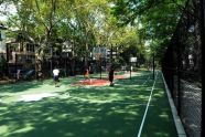 New basketball courts