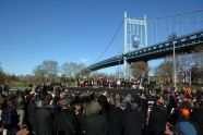 Triboro Bridge Re-Naming to RFK Ceremony in Astoria Park by Malcolm Pinckney