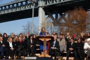 Kerry Kennedy, daughter of Robert F. Kennedy, speaks
