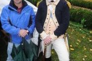 Parks Commissioner Adrian Benepe & George Washington