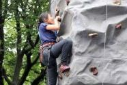 Rock climbing at Adventures NYC