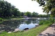 Crotona Park's Indian Lake and Nature Center