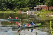 Canoes on Indian Lake