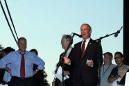 Senator Charles E. Schumer and Mayor Michael R. Bloomberg
