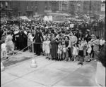 The Street Scene after Thomas Jefferson Pool Dedication Ceremonies
