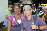 Adrian Benepe and Latisha James