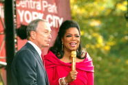 Mayor Bloomberg and Oprah