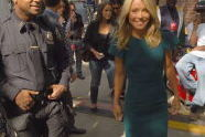 Kelly Ripa backstage