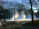 Winter Jam NYC Snowmaking in Central Park
