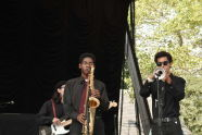 Aloe Blacc plays A Celebration of Giant Step's 20th Anniversary at SummerStage's Mainstage