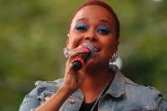 Chrisette Michele at Central Park Summerstage