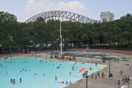 Swimming at Astoria Pool