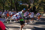 Space Blankets at 2010 ING NYC Marathon