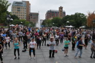 Zumba at BeFitNYC Fitness Festival
