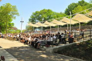 A view of the crowd at The Richard Rodgers Amphitheater