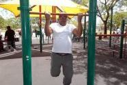 Keeping your chin up at Robert Venable Park