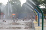 Spray Showers at Red Hook Pool