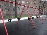 Abraham Lincoln Playground Swings