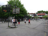 Dome Playground Basketball Court
