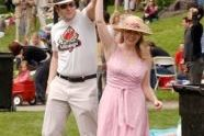 A couple dances at the Mississippi Day picnic