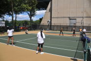 Astoria Park Tennis Courts Ribbon Cutting