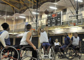 Wheelchair Basketball at Al Oerter Recreation Center