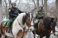 Mounted Auxiliary Unit at Staten Island Zoo