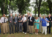 Van Cortlandt Park Memorial Grove Ribbon Cutting