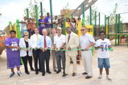 Rockaway Park Ribbon Cutting