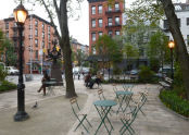 Bleecker Sitting Area