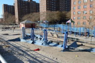 Storm Damage at Poseidon Playground