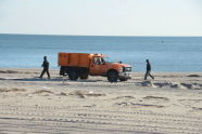 Cleanup at Coney Island