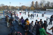Ice Skating at Lasker Rink
