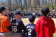 Sid Augarten Ballfield Ribbon Cutting
