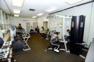 The J. Hood Wright Recreation Center Fitness Room