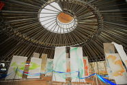 SeaGlass Carousel Topping Off Ceremony