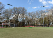Sunset Park Field Ribbon Cutting