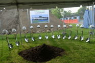 Cary Leeds Center for Tennis & Learning Groundbreaking