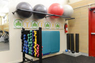 Lyons Pool Recreation Center's New Fitness Room
