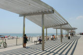 Drawing Shade at Rockaway Beach