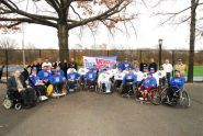 First wheelchair football field in Parks